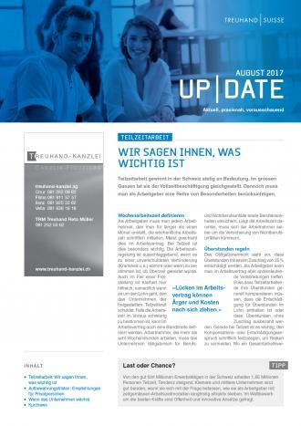 Update Ausgabe August 2017